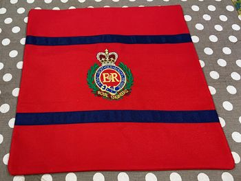 Embroidered RE Corps Cushion Covers